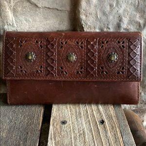 Ralph Lauren Studded Leather Wallet